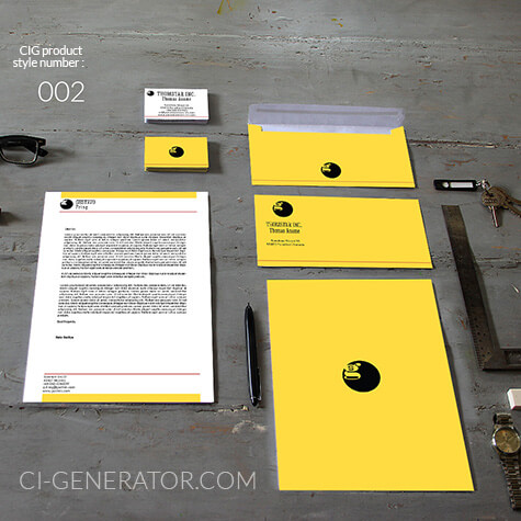 ci set 002 cover Geschäftsausstattung Corporate Design Identity CI set start ups