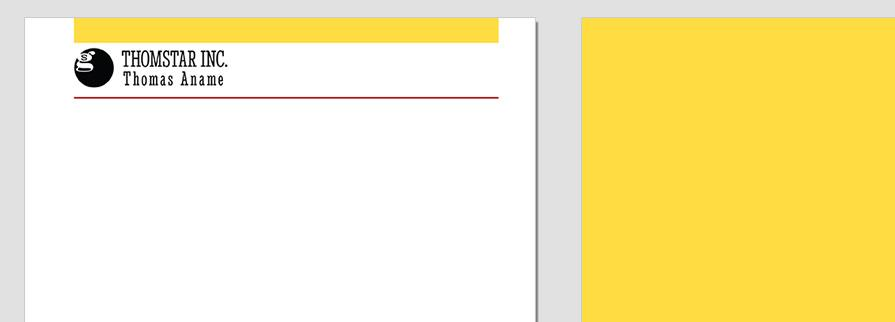 Ci Set 002 Letterhead T Geschäftsausstattung Corporate Design Identity CI Set Start Ups