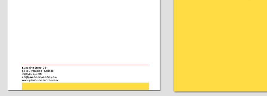 Ci Set 002 Letterhead B Geschäftsausstattung Corporate Design Identity CI Set Start Ups