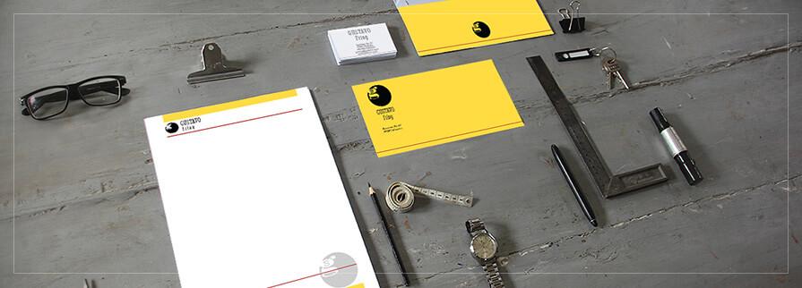 Ci Set 002 Cover Geschäftsausstattung Corporate Design Identity CI Set Start Ups