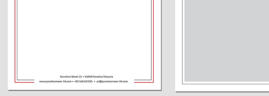 Ci Set 003 Letterhead B Geschäftsausstattung Corporate Design Identity CI Set Start Ups