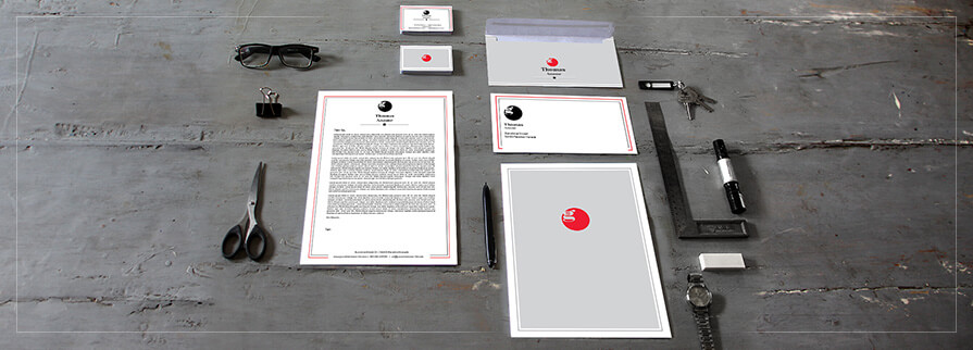 Ci Set 003 Geschäftsausstattung Cover Corporate Design Identity CI Set Start Ups