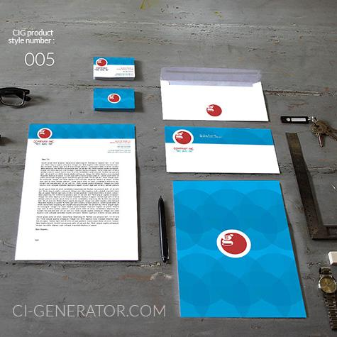 Ci Set 005 Cover Geschäftsausstattung Corporate Design Identity CI Set Start Ups