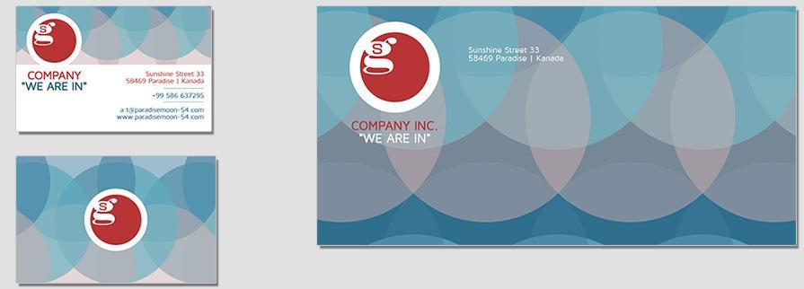 Ci Set 005 Envelope Bcard Geschäftsausstattung Corporate Design Identity CI Set Start Ups