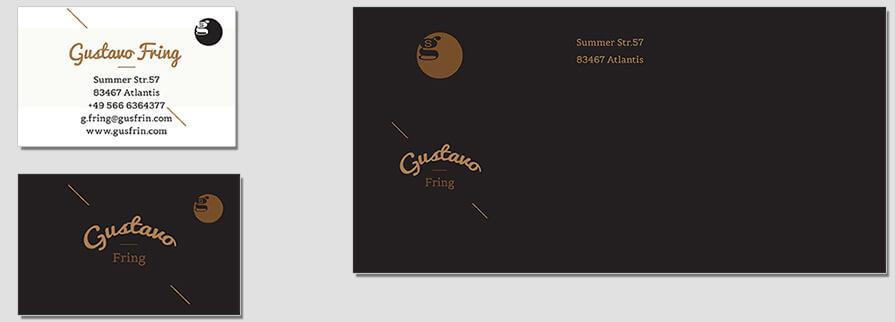 Ci Set 007 Envelope Bcard Stationery Corporate Design Identity Templates CI Design