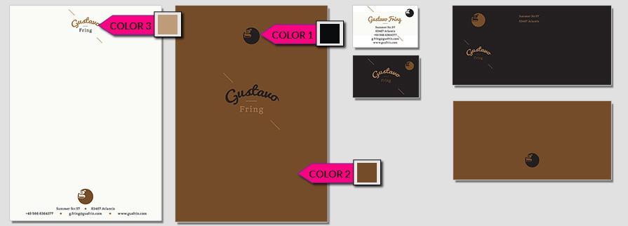 Ci Set 007 Color Stationery Corporate Design Identity Templates CI Design