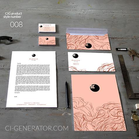 ci set 008 cover Stationery Corporate Design Identity Templates CI design