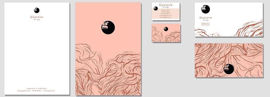 Ci Set 008 Flat Stationery Corporate Design Identity Templates CI Design