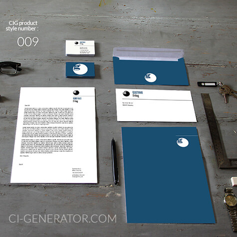 ci set 009 cover Stationery Corporate Design Identity Templates CI design