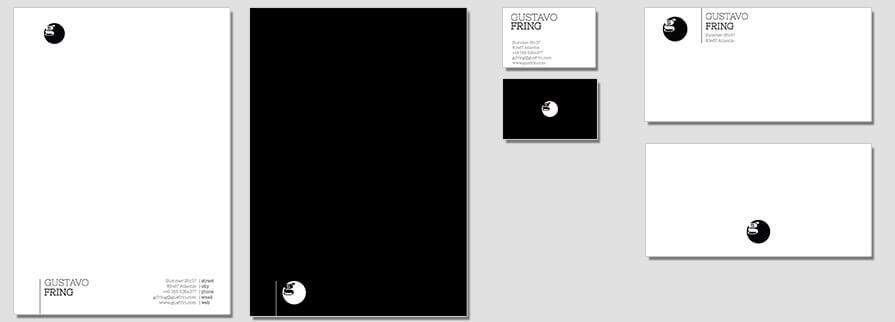 Ci Set 010 Flat Briefpapier Drucken Gestalten Briefbogen Geschäftsausstattung Stationery