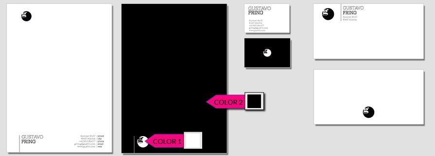 Ci Set 010 Color Briefpapier Drucken Gestalten Briefbogen Geschäftsausstattung Stationery
