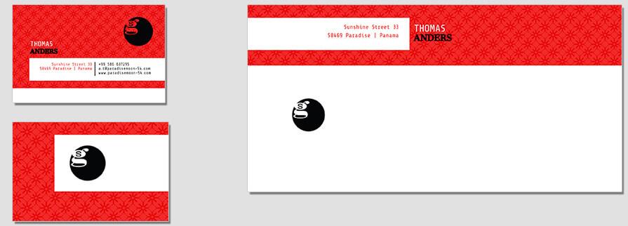 Ci Set 011 Briefpapier Envelope Bcard Drucken Gestalten Briefbogen Geschäftsausstattung Stationery