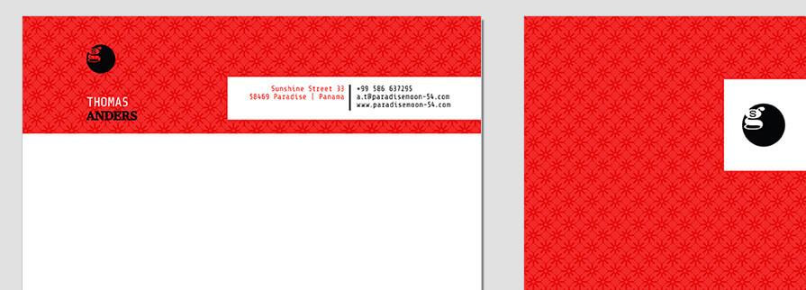 Ci Set 011 Letterhead T Briefpapier Drucken Gestalten Briefbogen Geschäftsausstattung Stationery