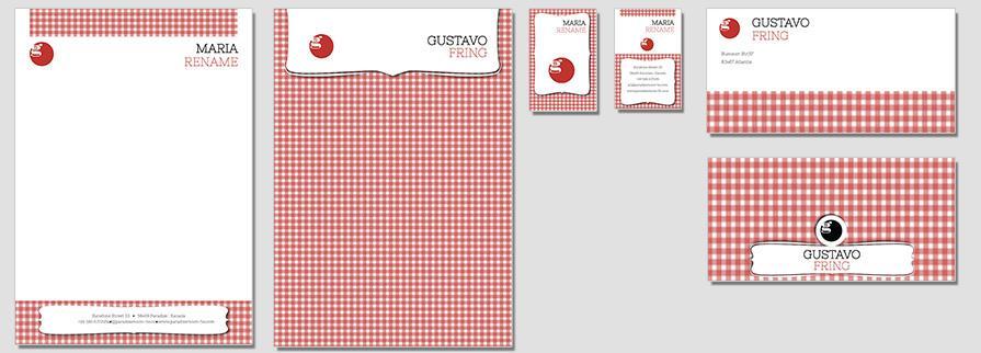 Ci Set 015 Flat Briefpapier Drucken Gestalten Briefbogen Geschäftsausstattung Stationery