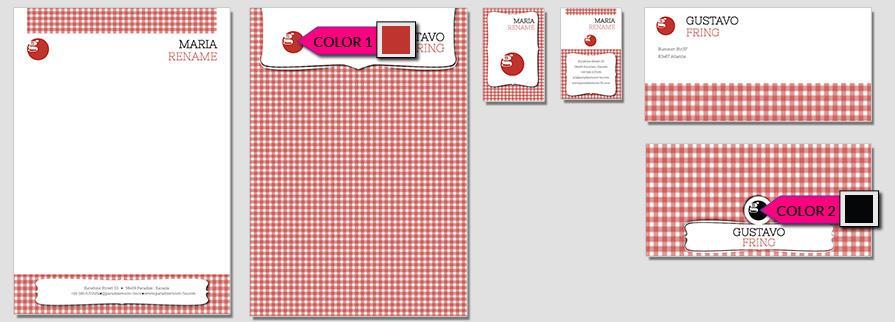 Ci Set 015 Briefpapier Drucken Gestalten Briefbogen Geschäftsausstattung Stationery