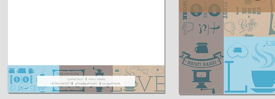 Ci Set 017 Letterhead B Corporate Identity Geschäftsausstattung Paket Pop Art Individual Art Selbst Vermarktung Start Up