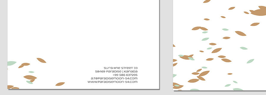 Ci Set 018 B CI Letterhead Business Card Envelopes Facebook Branding Marketing