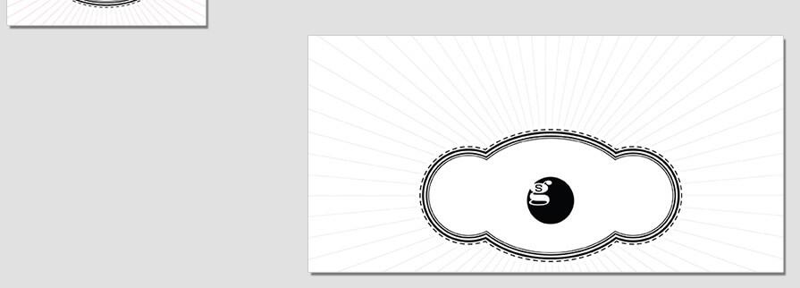Ci Set 019 Envelope CI Letterhead Business Card Envelopes Facebook Branding Marketing