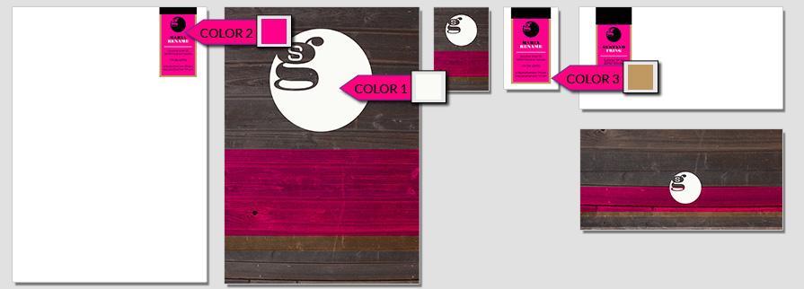 Ci Set 021 Color CI Business Karten Visitenkarten Online Drucken Diy Do It Yourself