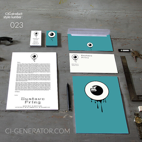 Corporate Identity 023 Www.ci-generator.com Design Start Up CI Set For Any Business