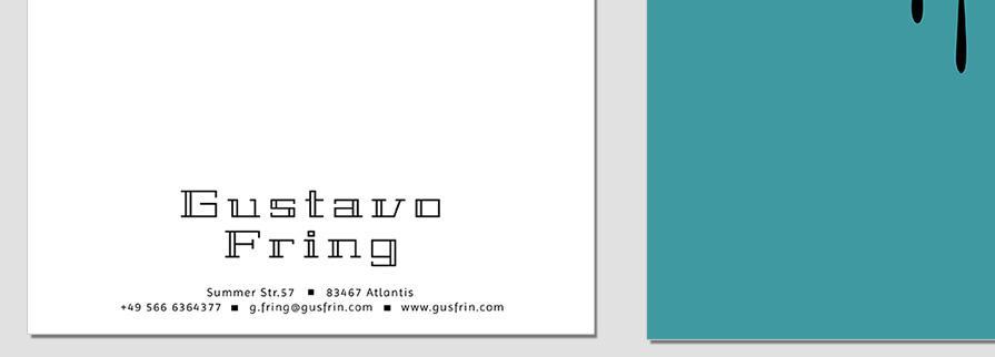 Ci Set 023 Letterhead B CI Business Karten Visitenkarten Online Drucken Diy Do It Yourself