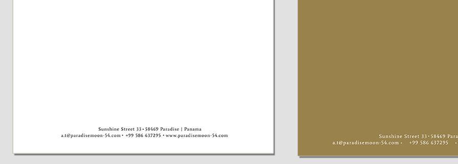 Ci Set 031 Letterhead B Geschäftsausstattung Umschläge Selbst Drucken Start Up Set