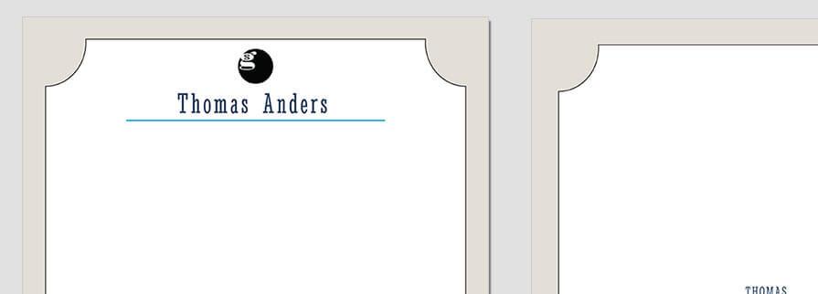 Ci Set 032 Letterhead T Geschäftsausstattung Umschläge Selbst Drucken Start Up Set