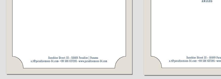 Ci Set 032 Letterhead B Geschäftsausstattung Umschläge Selbst Drucken Start Up Set
