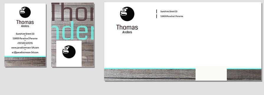Ci Set 033 Envelope Bcard Geschäftsausstattung Umschläge Selbst Drucken Start Up Set