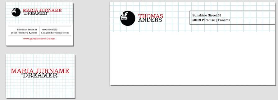 Ci Set 034 Envelope Bcard Geschäftsausstattung Umschläge Selbst Drucken Start Up Set