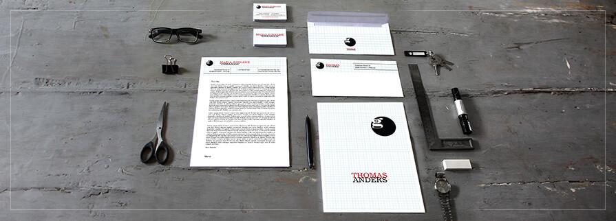 Ci Set 033 Geschäftsausstattung Umschläge Selbst Drucken Start Up Set