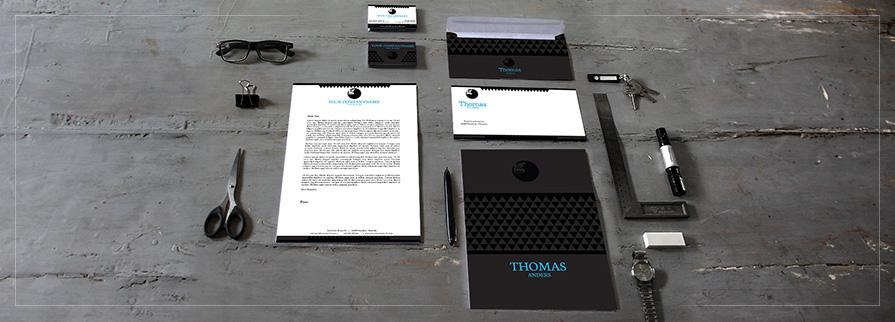 Ci Set 035 Cover Geschäftsausstattung Umschläge Selbst Drucken Start Up Set