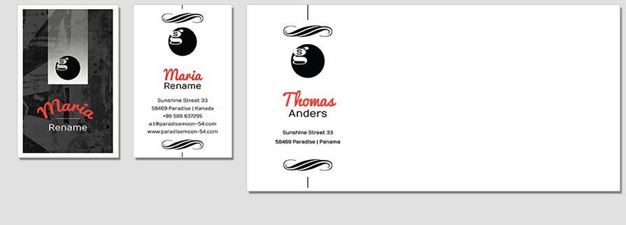 Ci Set 042 Envelope Bcard Corporate Design Agentur Shop Templates Design Agency Branding