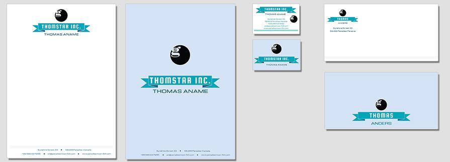Ci Set 045 Corporate Flat Design Agentur Shop Templates Design Agency Branding