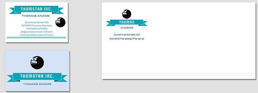 Ci Set 045 Corporate Envelope Bcard Design Agentur Shop Templates Design Agency Branding