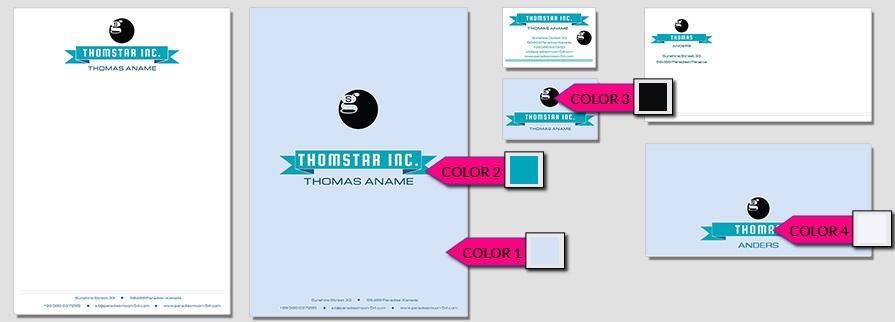 Ci Set 045 Corporate Color Design Agentur Shop Templates Design Agency Branding