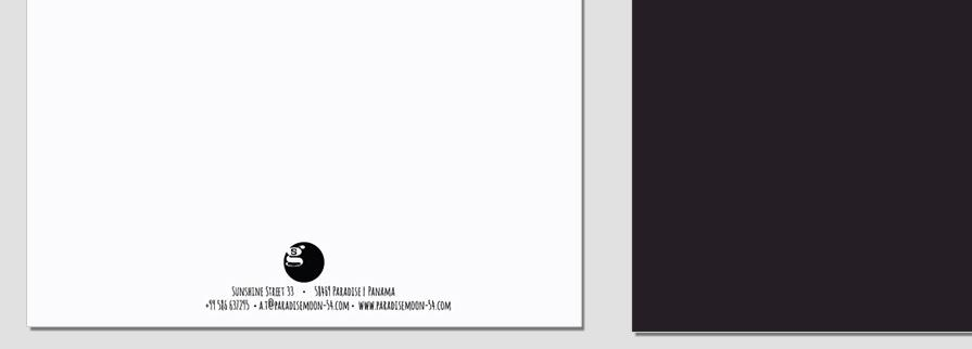 Ci Set 046 Letterhead B Corporate Identity Geschäftsausstattung Paket Pop Art Individual Art Selbst Vermarktung Start Up