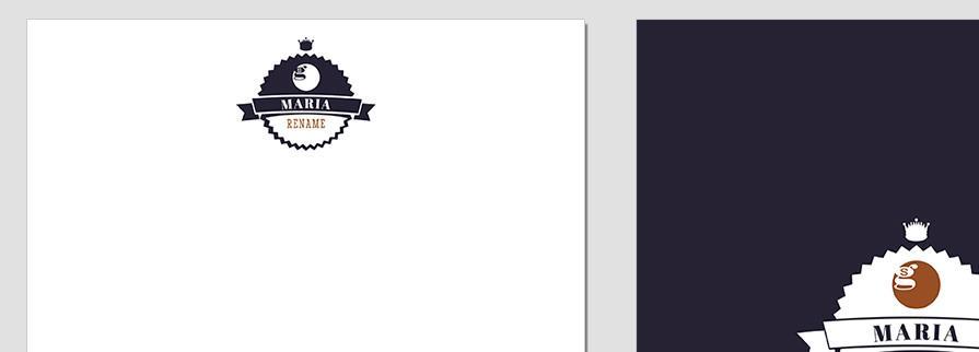 Ci Set 049 Letterhead T Corporate Identity Geschäftsausstattung Paket Pop Art Individual Art Selbst Vermarktung Start Up