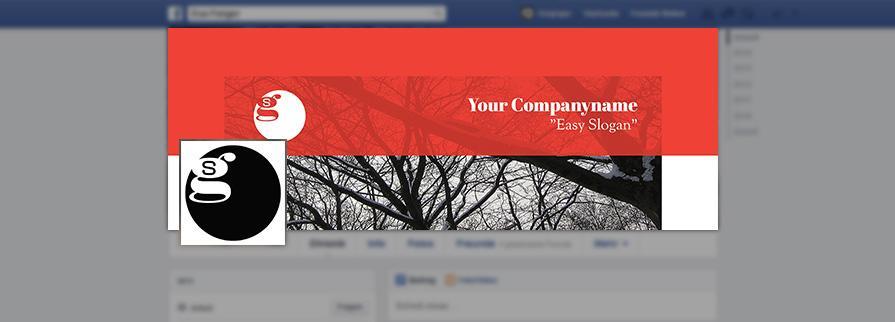 Ci Set 051 Facebook Corporate Design Agency Shop Templates  Bradning Marketing Entrepreneur