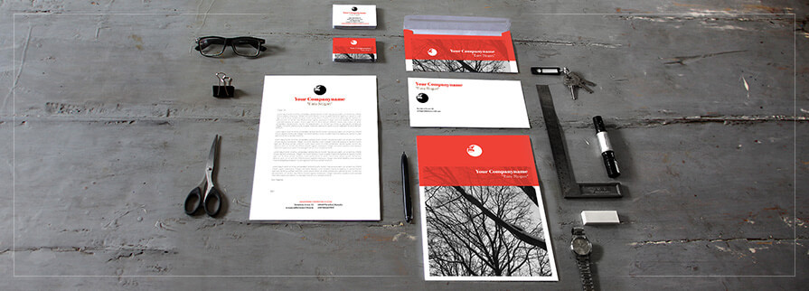 Ci Set 051 Cover Corporate Design Agency Shop Templates  Bradning Marketing Entrepreneur