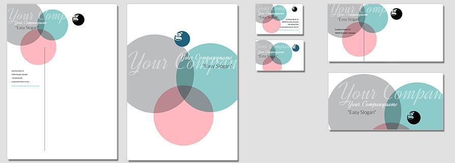 Ci Set 052 Flat Corporate Design Agency Shop Templates  Bradning Marketing Entrepreneur