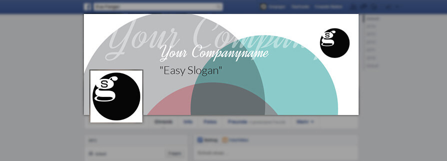 Ci Set 052 Facebook Corporate Design Agency Shop Templates  Bradning Marketing Entrepreneur