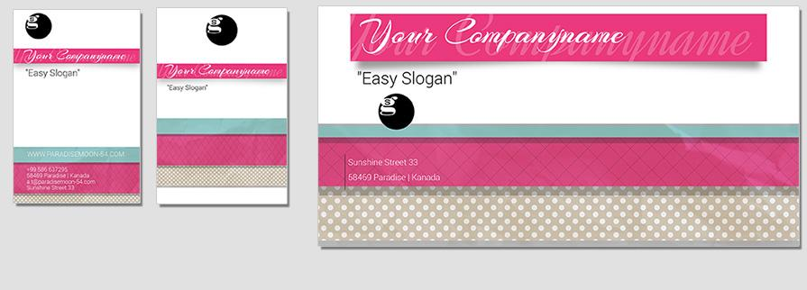 Ci Set 053 Envelope Bcard Corporate Design Agency Shop Templates  Bradning Marketing Entrepreneur