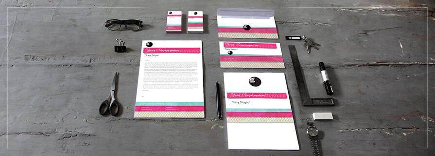 Ci Set 053 Cover Corporate Design Agency Shop Templates  Bradning Marketing Entrepreneur