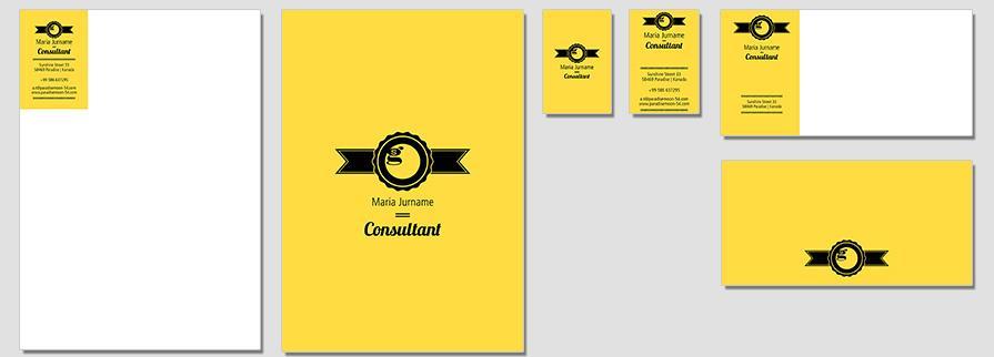 Ci Set 055 Flat Corporate Design Agency Shop Templates Bradning Marketing Entrepreneur