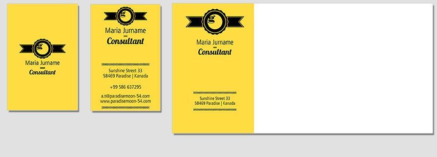 Ci Set 055 Envelope Bcard Corporate Design Agency Shop Templates Bradning Marketing Entrepreneur