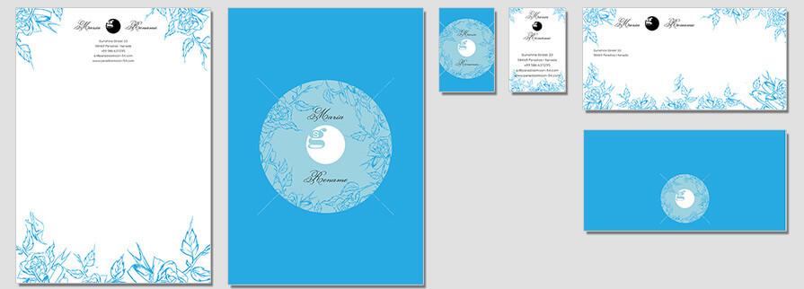 Ci Set 058 Flat Brand Identity Günstig Drucken / Bestellen Start Up Design Paket