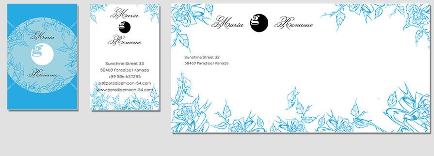 Ci Set 058 Envelope Bcard Brand Identity Günstig Drucken / Bestellen Start Up Design Paket