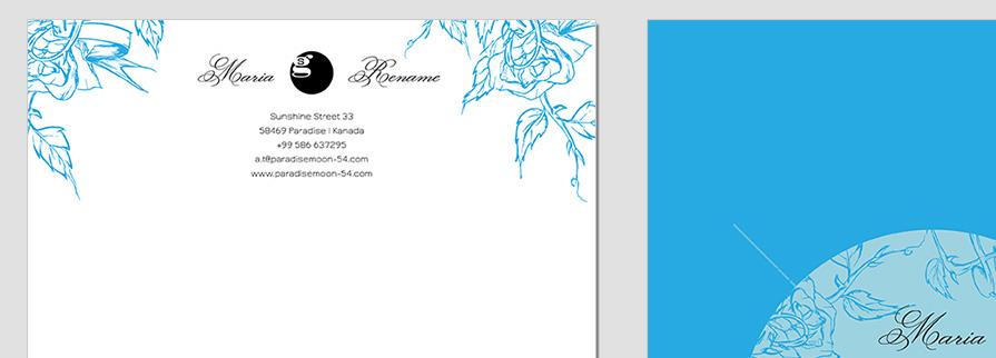 Ci Set 058 Letterhead T Brand Identity Günstig Drucken / Bestellen Start Up Design Paket