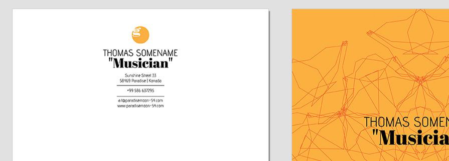 Ci Set 060 Letterhead T Brand Identity Günstig Drucken / Bestellen Start Up Design Paket